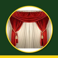 Curtains meaning in hindi