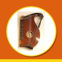Zither meaning in Hindi - Zither in Hindi - Definition and